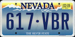 Image of the Nevada state license.