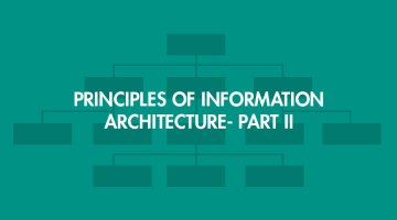 Principles of Information Architecture Part II