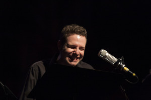 Actor Jay Perry in 'Radio Hour Episode 9: Grimm.'  Photo: Rick Pollock.