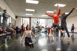The premiere of '53 Rooms,' choreographed by Ririe-Woodbury Dance Company Artistic Director, Daniel Charon