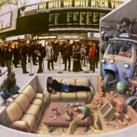 Backstage at the Utah Arts Festival 2015: Out into the streets, Kurt Wenner's art resonates in profound social significance