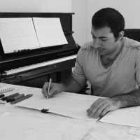Backstage at The Utah Arts Festival 2018: Saad Haddad, youngest recipient ever of Utah Arts Festival's composer commission award, with forthcoming premiere of Azwaj