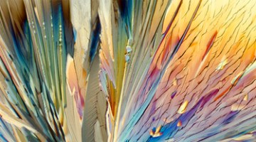 Backstage at The Utah Arts Festival 2016: Lee Hendrickson's photography captures transient beauty of crystals in realms of art, science