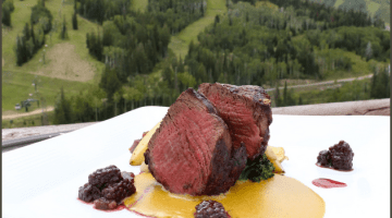 Taste of the Wasatch private chef dinner party auction