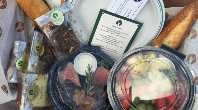Deer Valley picnic baskets deliver gourmet foods to go