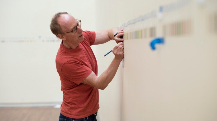 UMFA talk to feature Spencer Finch, who created largest Pantone installation piece Great Salt Lake and Vicinity