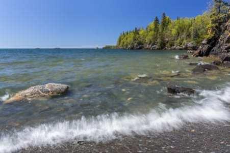 North Short Lake Superior,