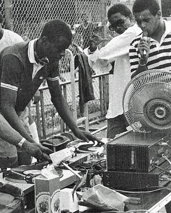 Hip Hop in the Bronx in the 70s