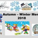 Autumn - Winter Menu 2018