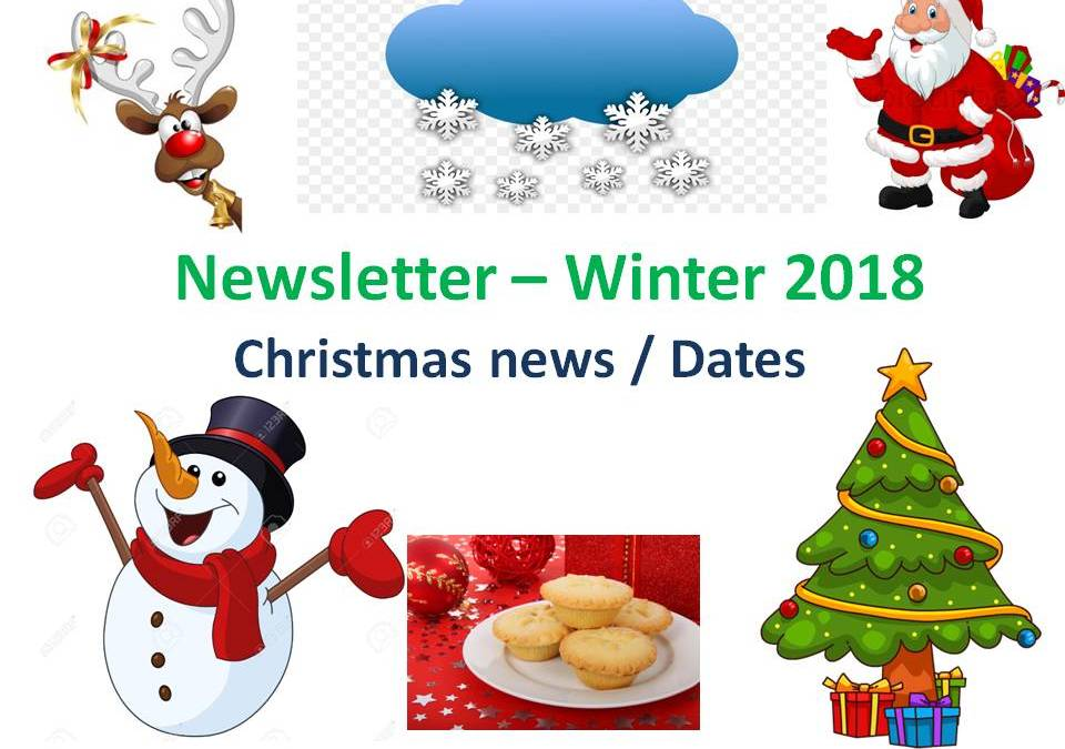 Parents' Christmas Newsletter – Winter 2018