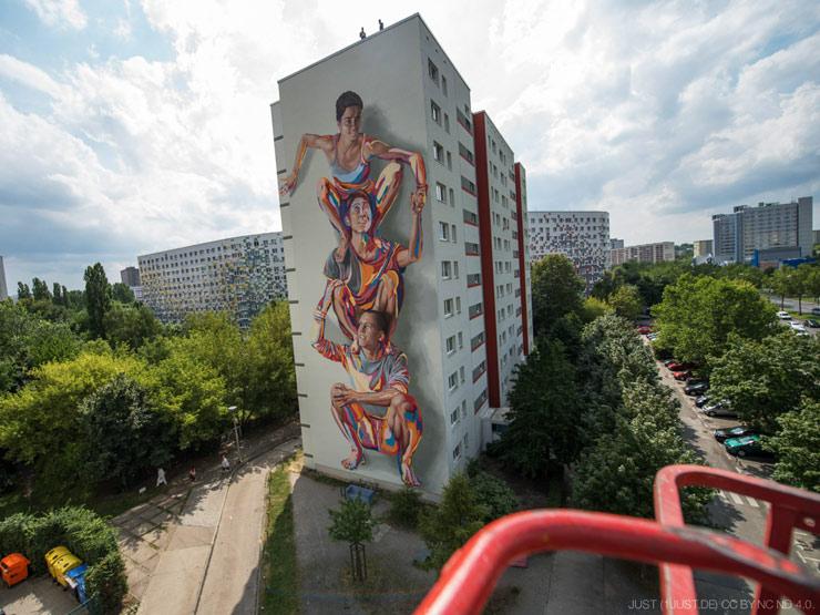 Jbak S New Mural In Berlin