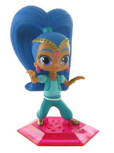 Shine Genie From Shimmer Shine Figure Cake Topper The Vanilla Valley