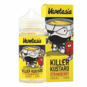 Killer-Kustard-Strawberry-Vapetasia-eJuice-100ml-eLiquid