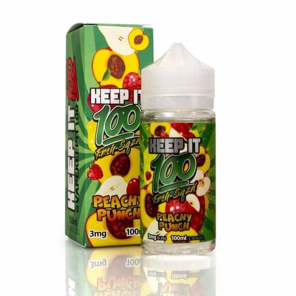 Keep-it-100-eJuice-Peachy-Punch-100ml
