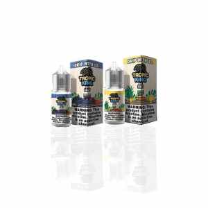 Tropic King Salt Nic Maui Mango, Mad Melon, Lychee Luau and Berry Breeze