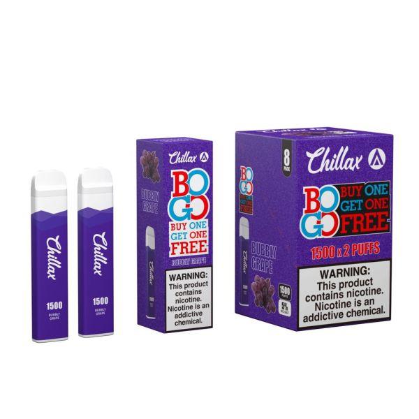 Chillax Bogo Bubbly Grape