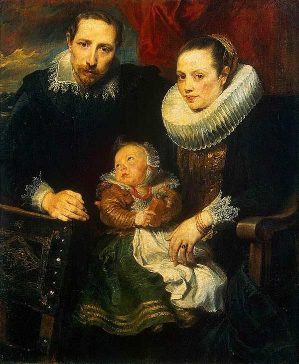 Anthony van Dyck's reality show of a happy family