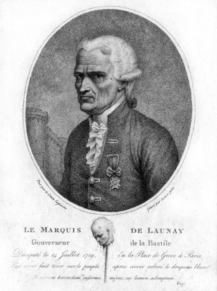 de Launay, engraving by Chenon