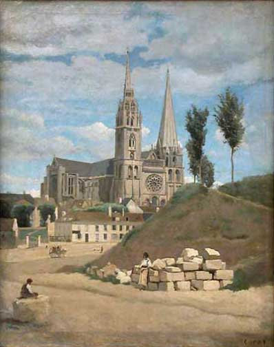 Corot_Chartres