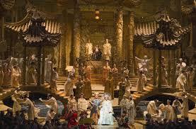 Turandot Stage