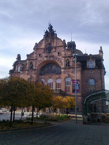 Nuremberg Opera House (photo by Salvatore Babones)