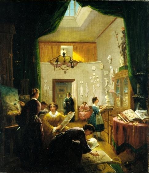 Louis Lang's 'Art Class'