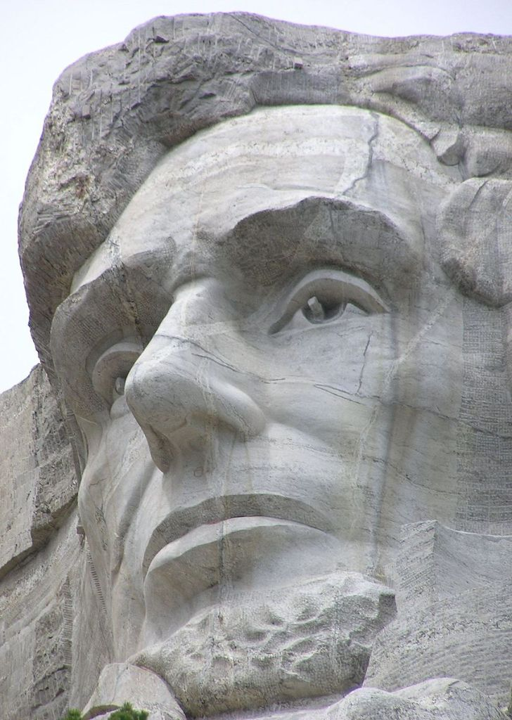 (photo of Abe on the Mountain by Scott Catron )