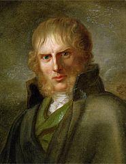Portrait of a pretty scary Caspar by Gerhard von Kügelgen