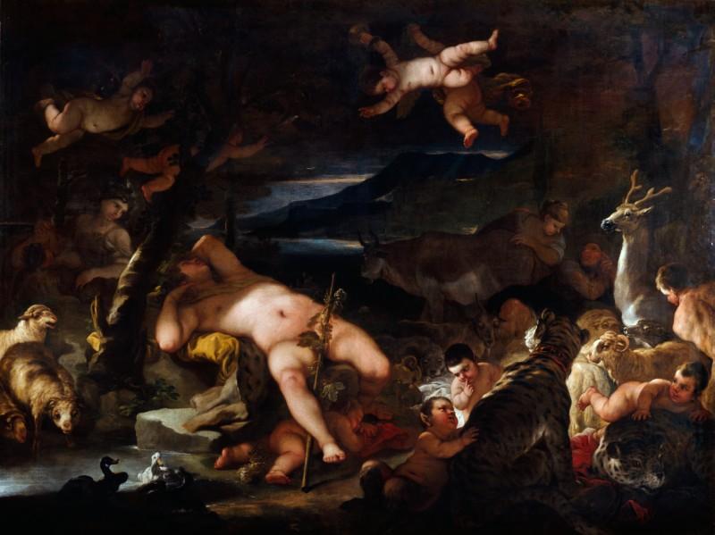 Dream of Bacchus (or perhaps Caravaggio?)
