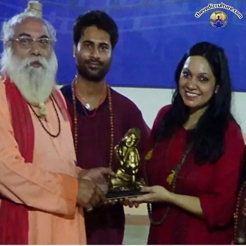 Maa Devyani with Maharaj Batukgiriji