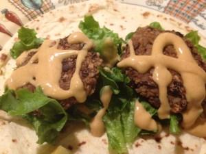 vegan black bean burger wrap | easy vegan sandwich recipe