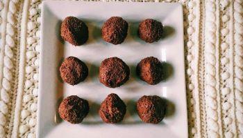 Vegan Brownie Bliss Balls