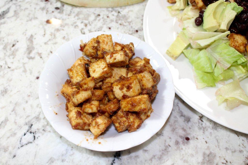 Peanut Butter Tofu