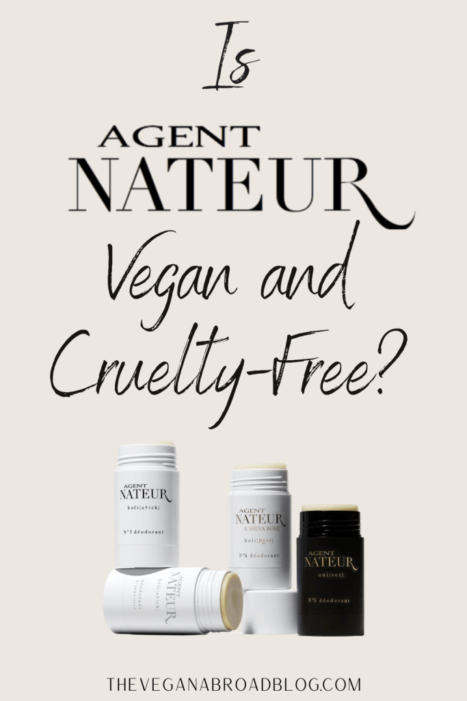 Is Agent Nateur Cruelty-Free and Vegan?