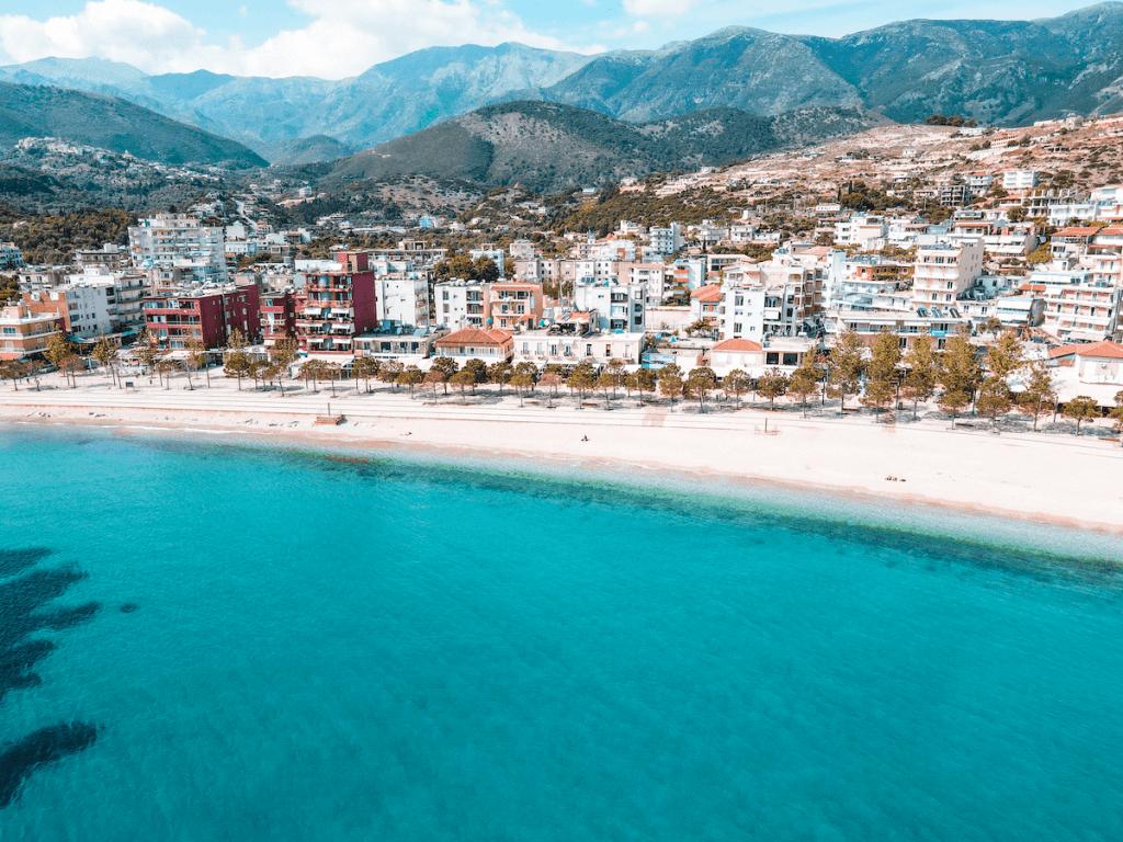 Beach in Albania