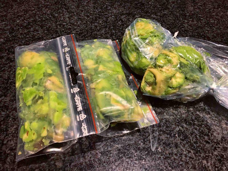 Si può congelare l'avocado?