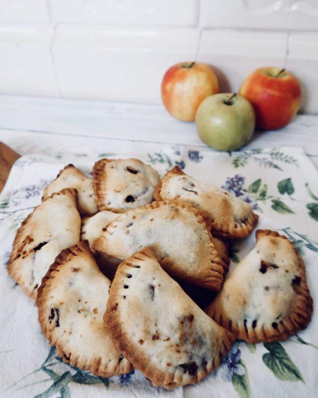 Mezzelune di strudel di mele