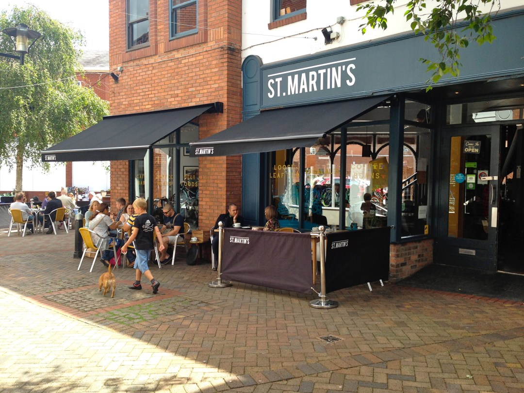St Martins Tea And Coffee In Leicester The Vegan Twist