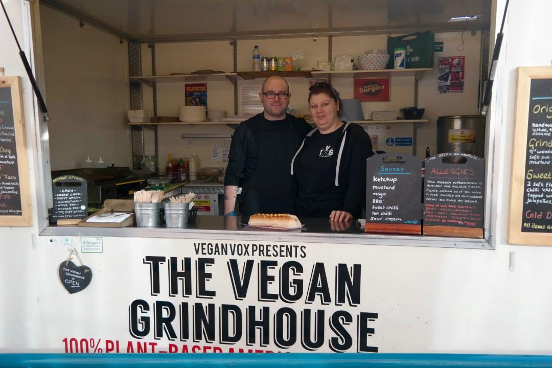 Lovely folk behind The Vegan Grindhouse
