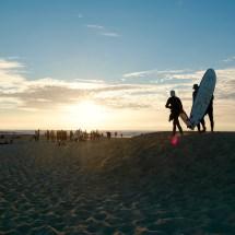 vegan surf camp france