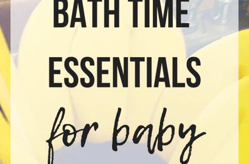 Bath Time Essentials For Baby | www.thevegasmom.com