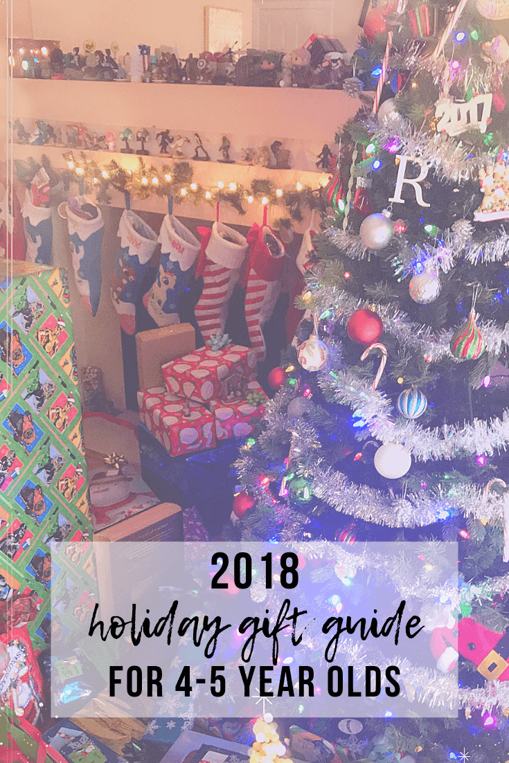 2018 Holiday Gift Guide for 4-5 Year Olds | www.thevegasmom.com
