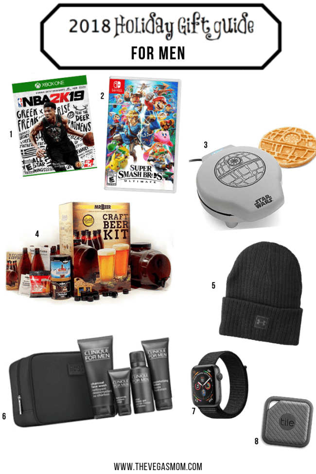 2018 Holiday Gift Guide for Men | www.thevegasmom.com