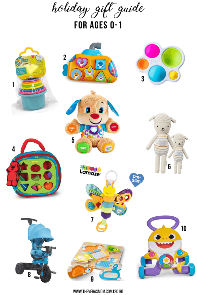 2019 Holiday Gift Guide for 0-1 Year Olds | www.thevegasmom.com