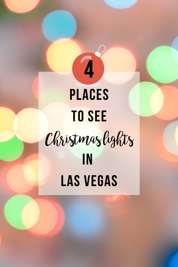 Places to See Christmas Lights in Las Vegas | www.thevegasmom.com