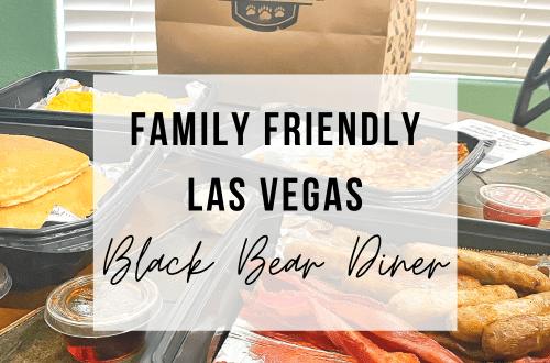 Family Friendly Las Vegas: Black Bear Diner | www.thevegasmom.com