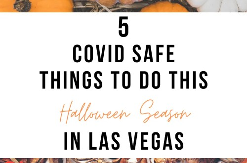5 COVID Safe Things to do this Halloween Season in Las Vegas | www.thevegasmom.com