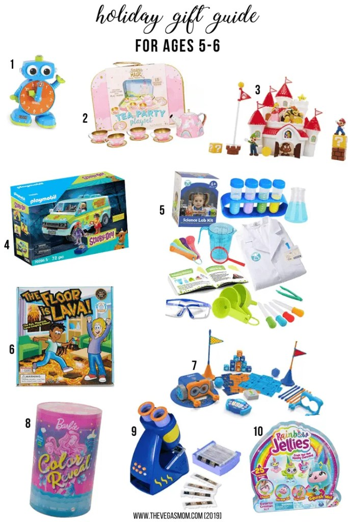 2020 Holiday Gift Guide for 5-6 Year Olds | www.thevegasmom.com
