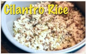 cilantro rice 2