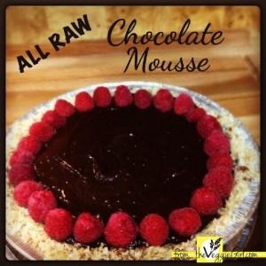 Raw Chocolate Mouse Pie